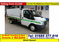 2008 - 08 - FORD TRANSIT T350 M RWD 2.5TDCI 115PS HI SIDED TIPPER (GUIDE PRICE)