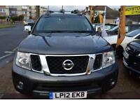GOOD CREDIT CAR FINANCE AVAILABLE 2012 12 NISSAN NAVARA 2.5dCi TEKNA AUTOMATIC