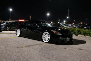 2008 Infiniti G37X with air suspension system