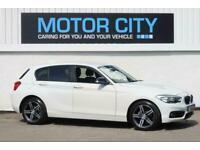 2017 BMW 1 Series 118D SPORT Hatchback Diesel Manual