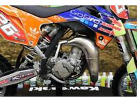 2015 KTM SX 85 MOTOCROSS BIKE V-FORCE 3, NEW GRIPS