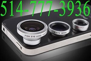3 in 1 Wide Macro +180°Fish Eye Lens for iPhone 5S 5 4S iPad3…