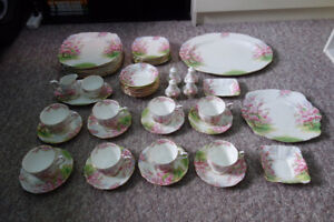 """Blossom Time"" Royal Albert China"