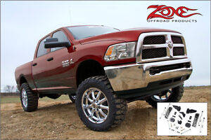 Zone Offroad - Suspension Lift Kit 4'' Ram 2500 4WD Gaz 2014-17