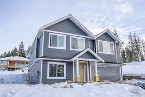 Salmon Arm - Brand New Home Under Construction with 2 bdrm Suite