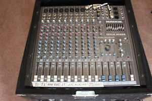 12 Channel Mixer in Rack with Extras!