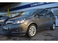 GOOD CREDIT CAR FINANCE AVAILABLE 2013 63 Vauxhall Zafira 1.6i