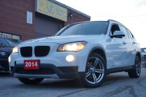 2014 BMW X1 XDRIVE 2.8I LEATHER PANORAMIC SUNROOF ALLOYS
