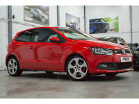 VW Polo 1.4 TSi GTi DSG, 60 Reg, 59k, Bright Red, Big Spec, Xenon's, Climate....