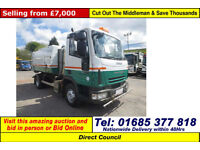 2007 - 07 - IVECO 75E16 SCARAB 4X2 7.5TON MERLIN XP SWEEPER (GUIDE PRICE)