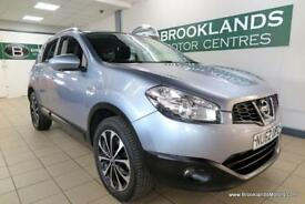 Nissan Qashqai 1.5 DCI N-TEC PLUS [4X SERVICES, SAT NAV, PANORAMIC ROOF and 360