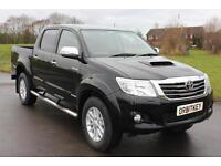 Toyota Hilux Inviincible 3.0 D-4D 4X4 D/C 15 REG 12585 MILES £21,495 NO VAT!!!