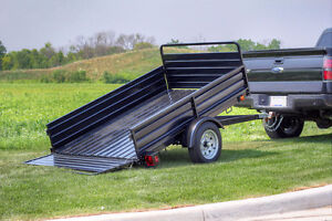 DK2 Mighty Multi Utility Tilt Trailer w/ Fold Down Gates Peterborough Peterborough Area image 1
