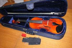 Excellent 4/4 Size Violin/Fiddle Outfit
