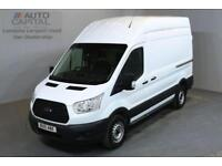 FORD TRANSIT 2.2 33 124 BHP L2 H3 MWB HIGH ROOF A/C