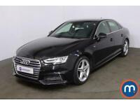 2018 Audi A4 1.4T FSI S Line 4dr [Leather-Alc] Saloon Petrol Manual