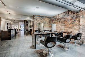 Location de chaise de coiffure & coloriste tous inclus!