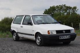 VW VOLKSWAGEN POLO MK2 F 1.0 WHITE 1992 BREADVAN PROJECT SPARES OR REPAIR