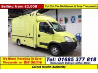 2008 - 08 - IVECO DAILY 50C18 3.0HPI WILKER BODY AMBULANCE (GUIDE PRICE)