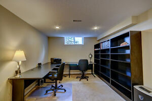 Office Furniture - Black Desks & Bookshelves - NEW PRICE Kitchener / Waterloo Kitchener Area image 1