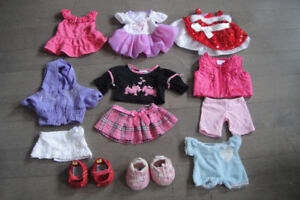 Huge-Lot-of-Build-A-Bear-Clothes-shoes-Clean and Cute