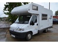Hymer 544 Camp Swing Five Berth Coachbuilt Motorhome for Sale Six Seatbelts