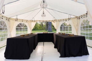 Marquee Party Tent 16x22 with white floor
