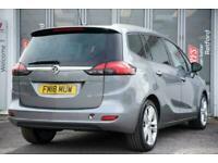 2018 Vauxhall Zafira 1.4T SRi Nav 5dr Estate Estate Petrol Manual