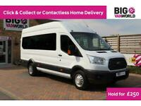 2018 FORD TRANSIT 460 TDCI 125 L4H3 TREND 13 SEAT BUS HIGH ROOF WITH WHEELCHAIR