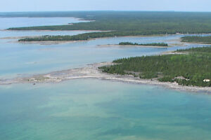 PRIVATE WATERFRONT 4 BEDROOM 4 Bath on 23 acres  on Lake Huron