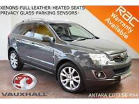 2012 Vauxhall/Opel Antara 2.2CDTi (163PS) (AWD) SE-LEATHER-HEATED SEATS-XENONS