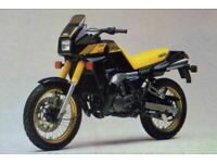 Yamaha TDR250 TDR 250 STD Light Grey Screen