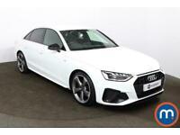2020 Audi A4 35 TDI Black Edition 4dr S Tronic Auto Saloon Diesel Automatic