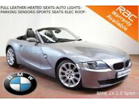 2008 BMW Z4 2.0i Sport Roadster-FULL LEATHER-HEATED SEATS-AUTO LIGHTS-S/H-