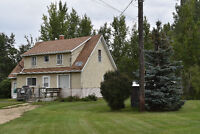 Gorgeous Acreage on 6.85 Acres - A MUST SEE!!  Leask