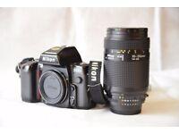 Nikon F 801 + Nikkor AF 70-210mm 1:4-5.6