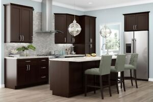 MARCH MADNESS SAVE 15% OFF EXPRESSO SHAKER. ALL WOOD CABINETS