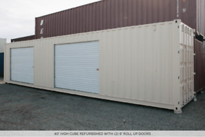 storage wanted for sea container / shipping container