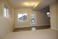 Unfurnished 2 bedrooms suite in ground level BSMT, utilities inc