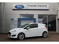 "NEW Ford Fiesta Sport Van, 1.5TDCi 95PS, White + 17"" Alloys - Onsite"