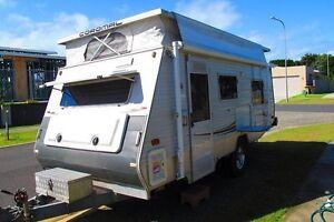 Coromal off-road pop-top caravan Broadbeach Gold Coast City Preview