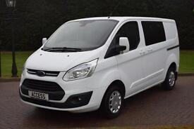 Ford Transit Custom Trend D/acb 2.2 tdci 6 speed 125 bhp