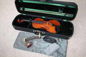 4/4 Stentor Conservatorie Violin/Fiddle Outfit