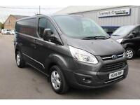 Ford Transit Custom 270 Limited 2.0 130PS SWB in Magnetic - Onsite