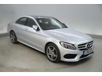 Mercedes-Benz C Class C300h AMG Line Premium Plus 4dr Auto