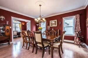 Dining Room table and chairs (formal)