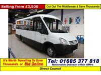 2007 - 57 - IVECO IRISBUS 50C15 3.0HPI 16 SEAT MELLOR BODY DISABLED ACCESS BUS
