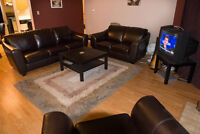 1 Bedroom Fully Furnished Condo Downtown Edmonton