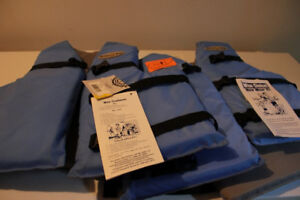 2 Junior Life Jackets New With Tags