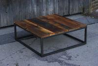 Local Custom Furniture Maker End/Coffee/Dining Tables-Walnut/Oak